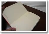 MOLESKINE Diary 2008 限定版 ダイアリー 赤の写真